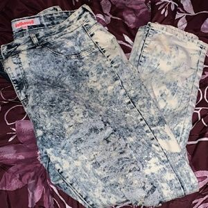 Dollhouse Acid wash Distressed Jeans